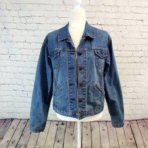 Levi's denim misses jacket.  Size M(8/10)